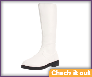 White High Boots.