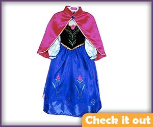 Anna Winter Costume Childs Size.