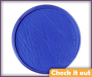 Blue Facepaint.