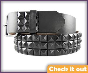 Studded Belt.