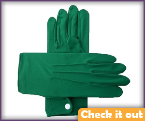 Green Gloves.