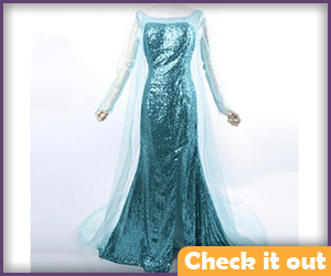 Elsa Winter Dress Alternate.