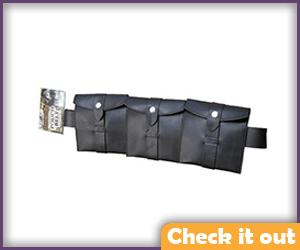 Brown Pouch Belt.