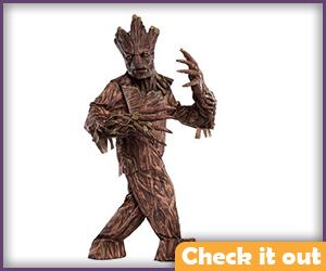 Complete Groot Costume.