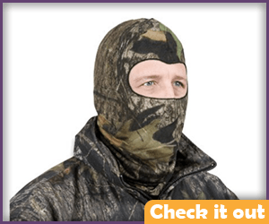 Camouflage Face Mask.