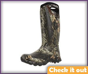 Camouflage Tall Boots.