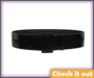 Black Waist Belt.