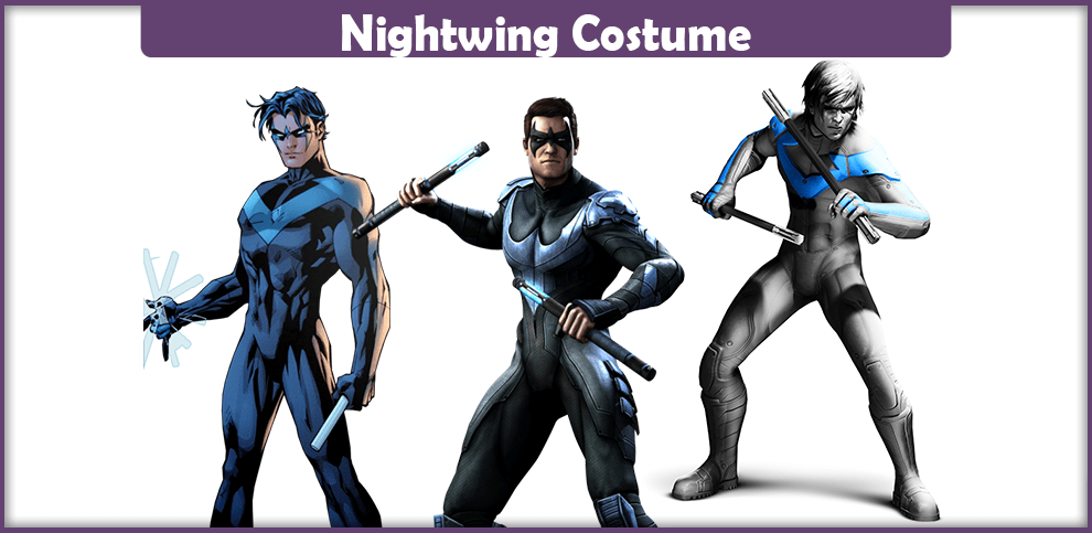 Nightwing costume a diy guide cosplay savvy nightwing costume solutioingenieria Images