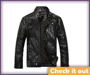 Alternate Black Leather Jacket.