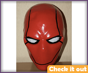 Red Hood Costume Mask.