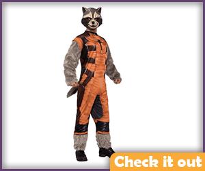 Rocket Complete Costume.