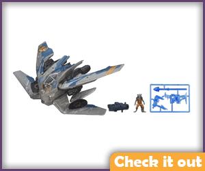 Rocket Raccoon Warbird Vehicle.
