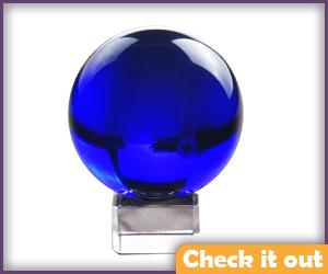 Blue Crystal Ball.