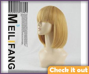 Armin Arlert Blonde Wig.