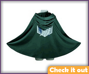 Attack on Titan Green Cape.