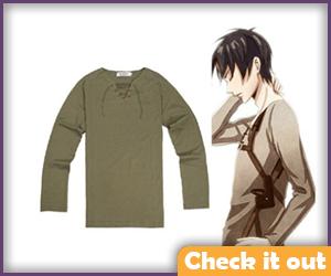 Eren Jaeger Costume Shirt.