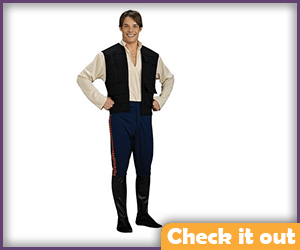 Han Solo Costume Deluxe.