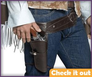 Brown Gun Belt and Holster.