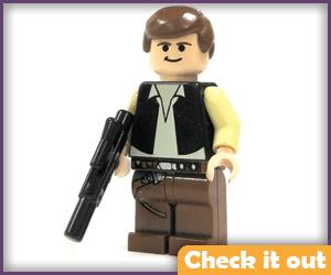Han Solo Lego.