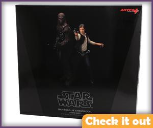 Han Solo Art FX Statue.