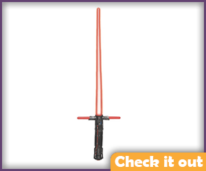 Kylo Ren Toy Lightsaber.