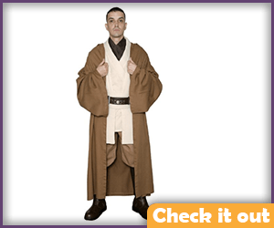 Light Brown Jedi Robes.