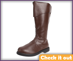 Brown Boots with Cuff.