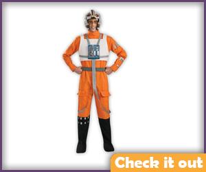 Poe Dameron Costume Flight Suit.