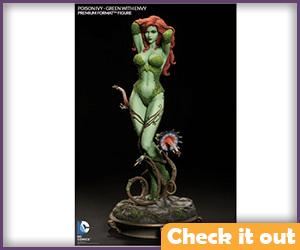 Poison Ivy Arkham Sideshow Figure.