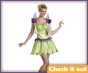 Tinker Bell Adult Rainbow Costume.