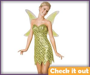 Tinker Bell Sequin Dress.
