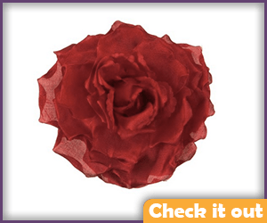Red Silk Rose.