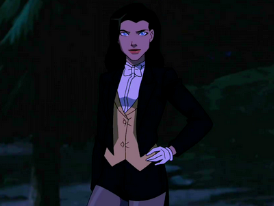 Young Justice Zatanna Reference Image.