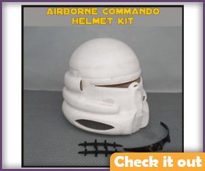 Airborne Commando Helmet DIY.