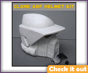 Arf Trooper Costume Helmet.
