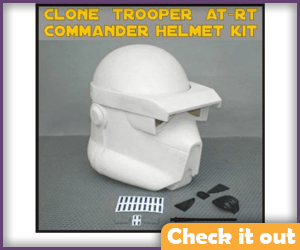AT-RT Commander Costume Helmet.