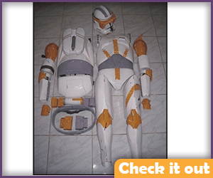 Commander Cody Adult Armor.