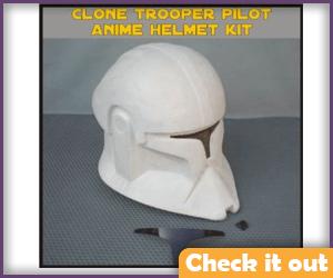 Clone Trooper Pilot Costume Helmet.