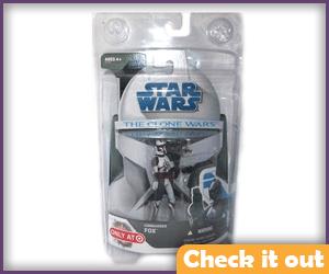 Commander Fox Clone Wars Figure.