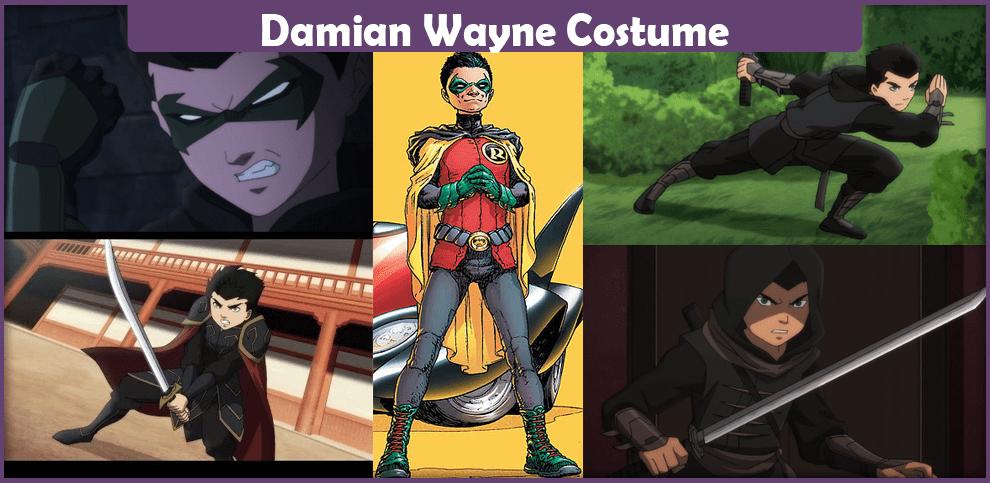 Damian Wayne Costume