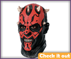 Darth Maul Adult Deluxe Latex Mask.
