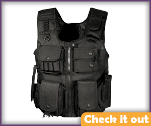 Black Tactical Vest.
