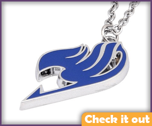 Natsu Blue Guild Necklace.