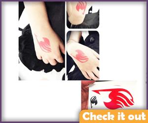 Natsu Guild Tattoo.