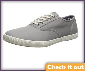 Grey Sneakers.
