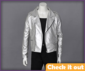 Quicksilver Silver Jacket.
