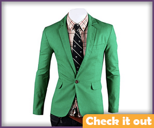 Green Suit Jacket.