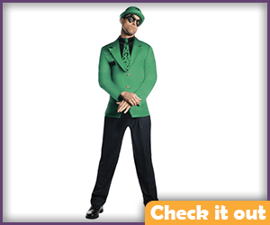Riddler Costume Adult Set.