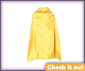 Satin Yellow Cape.
