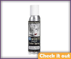 White Hair Spray.